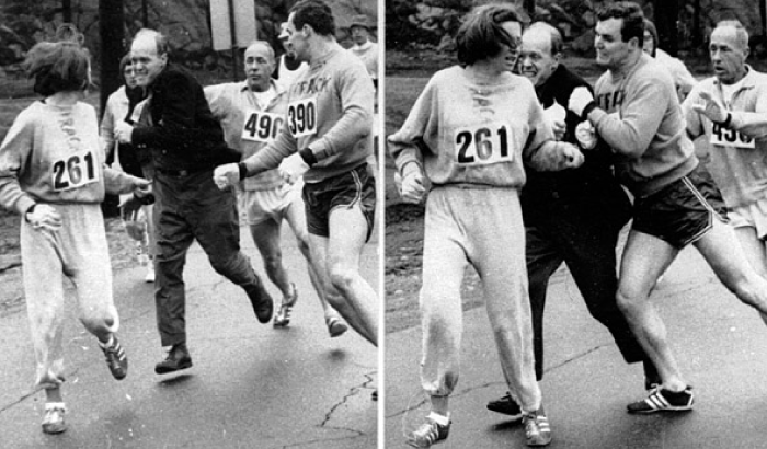 First female Boston Marathon runner Kathrine Switzer