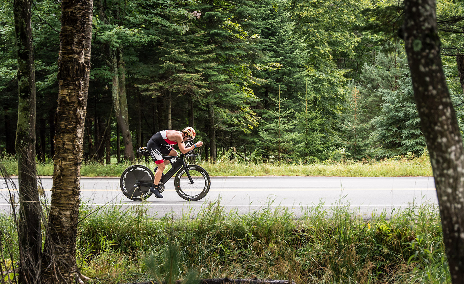 Ironman Mont-Tremblant, bike section
