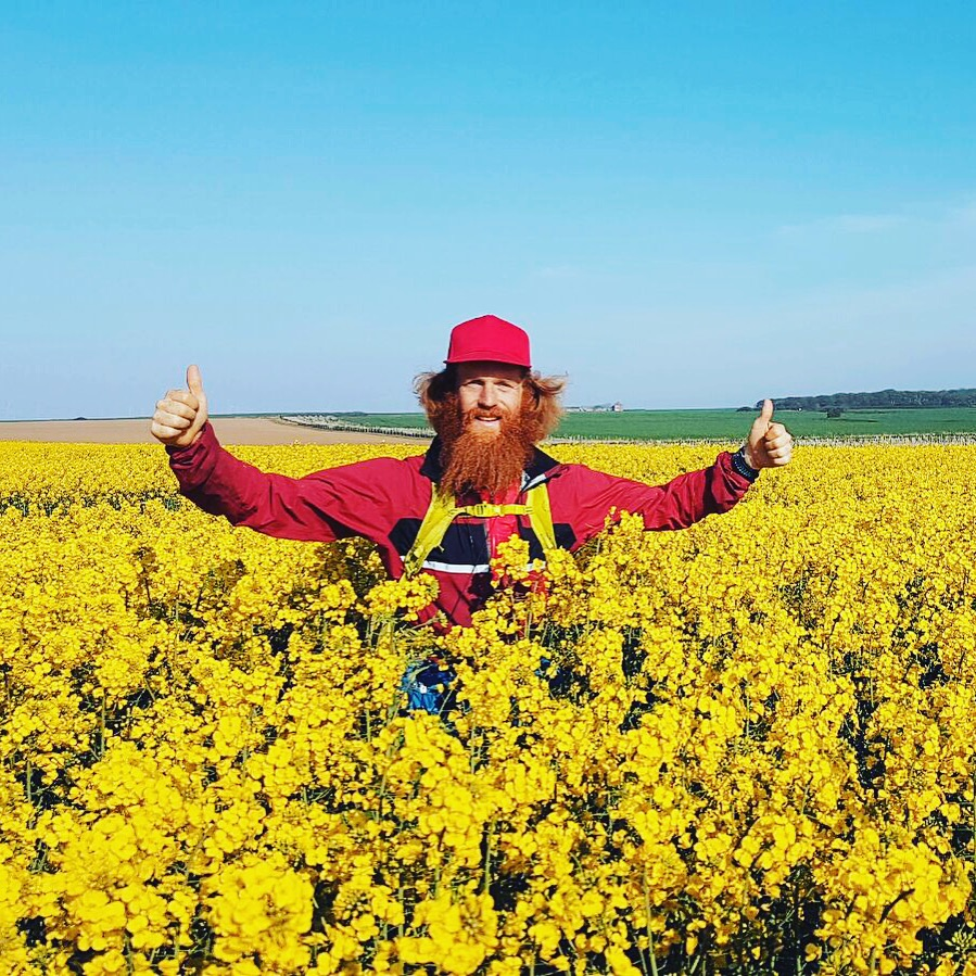 Sean Conway on an adventure