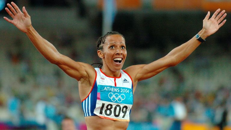 Dame Kelly Holmes, Olympic Athlete